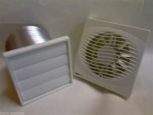 Manrose 6 U0026quot  150mm Kitchen Extractor Fan Optional Vent Grill