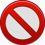 Stop Restricted Sign Entry Icon Prohibited Restrict