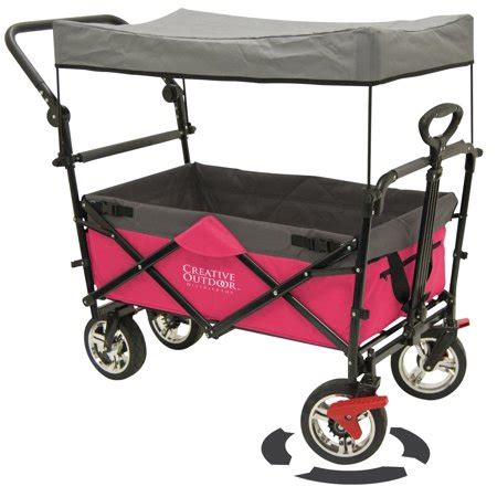 folding wagon with canopy folding wagon for foldable canopy with sun