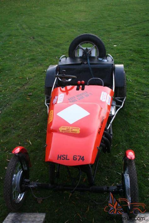 race trials car alan gisby built    classic sidecar