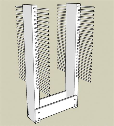 cabinet door finishing racks 1000 images about drying rack on pinterest painting