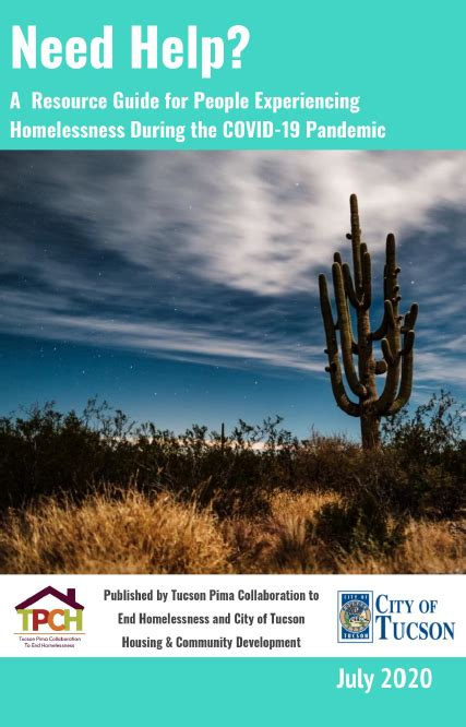 TPCH COVID-19 Unsheltered Resource Guide Updated   Tucson ...