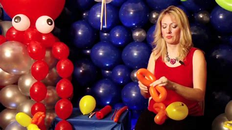 how to make a balloon balloon art how to make a simple fish youtube