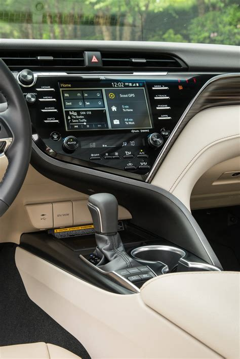 toyota camry hybrid xle review steady comfortable