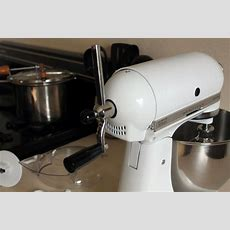 Convert A Kitchen Aid Mixer To Hand Crank  Offgrid  Off