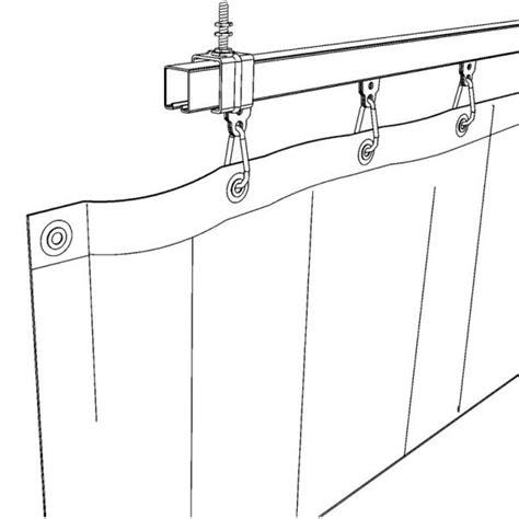 gordijnen ophangsysteem verschuifbaar ophangsysteem met rails voor gordijnen