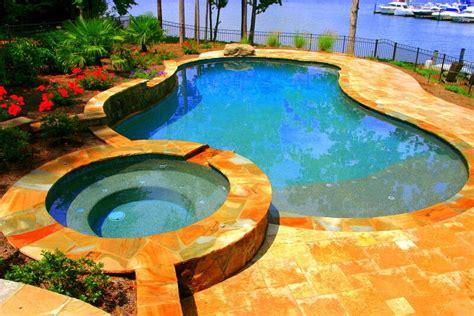 pool 8 form free form pools inground pool waxhaw nc aloha pools