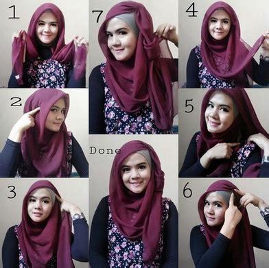 tutorial hijab segi empat modern favorite remaja   hijab trendz fashion