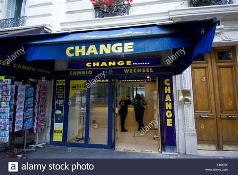 bureau de change lazare bureau de change stock photo royalty free