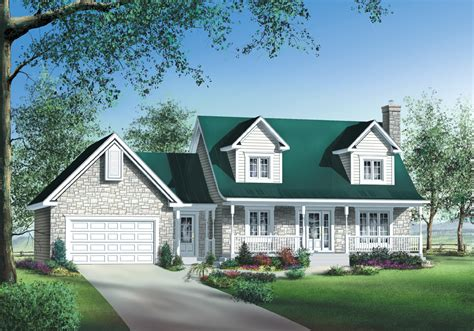 Houses With Garages by Brick Or Siding House Plan 80470pm