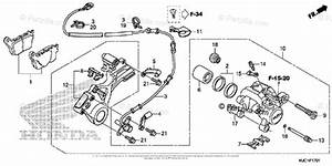 Honda Motorcycle 2017 Oem Parts Diagram For Rear Brake