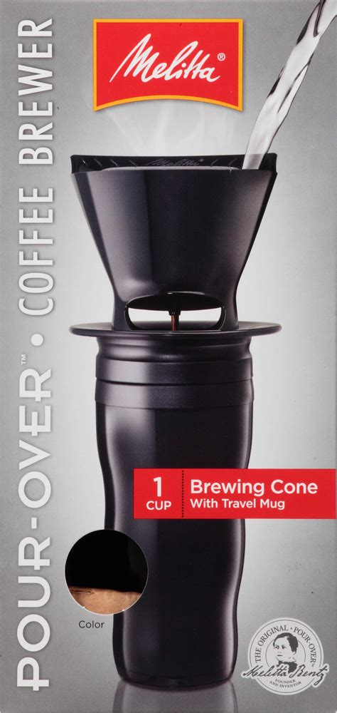 Is the quality of the resulting coffee significantly. Amazon.com : Melitta Coffee Maker, Single Cup Pour-Over Brewer, Black (Pack of 8) : Melita ...