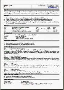 sle one page resume pdf one page resume format
