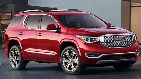 Gmc Acadia Heading To Australia As A Holden