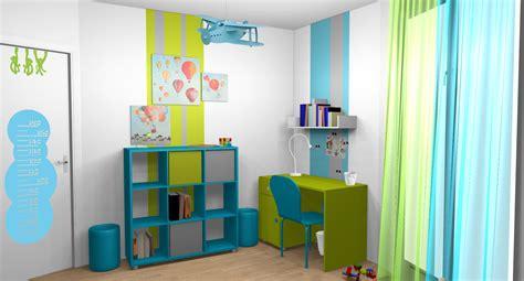 id d o chambre idée déco chambre turquoise