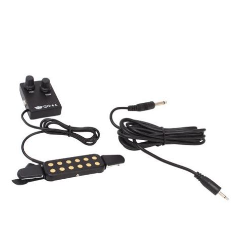 Professional Acoustic Guitar Pickup Wire Amplifier