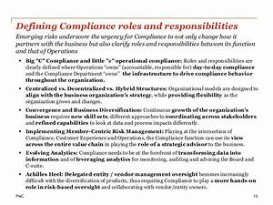 Roles Of A Customer Care Officer Building A Compliance Department Of The Future Driving