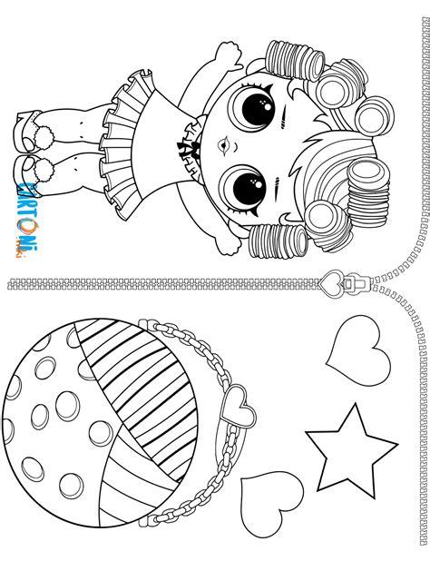 immagini da colorare lol unicorn babydoll da colorare lol serie 3 cartoni animati