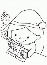 Coloring Christmas Card Pages Clipart Write Library Cards Popular Clip Coloringhome sketch template