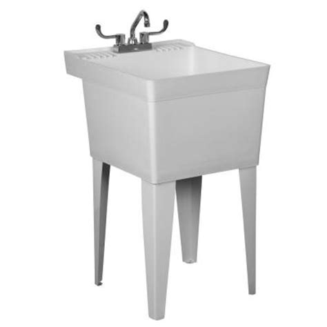home depot laundry sink fiat laundry tub to go 20 in x 23 875 in x 33 6875 in