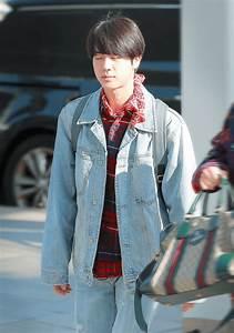 20+ Photos of BTS Jin Jimin and J-Hopeu0026#39;s Recent Unusual Airport Fashion - Koreaboo