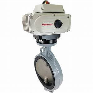 8 U2033 Electric Actuated Butterfly Valve  Wafer  Epdm  110vac