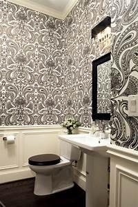 Papier Peint Pour Salle De Bain : papier peint pour salle de bain ~ Dailycaller-alerts.com Idées de Décoration