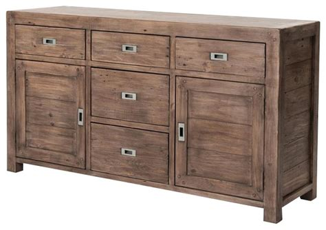 Kitchen Buffets Sideboards by Parsons Reclaimed Wood Sideboard Buffet 61 Rustic