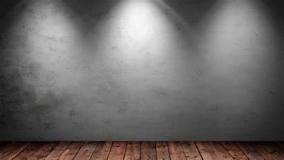 Office Empty Desktop Wood Floor Backgrounds Walls