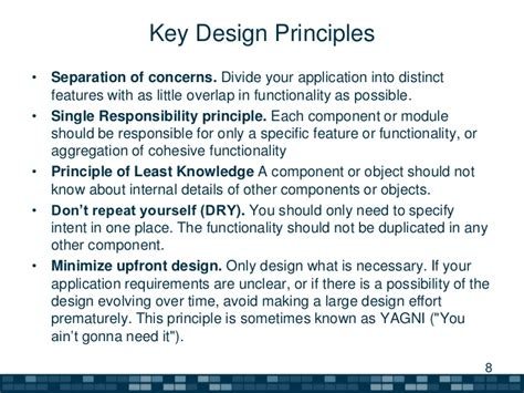 design principles architecture a summary of software architecture guide