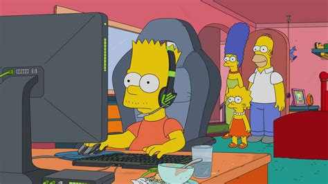 simpsons joins  riot games  turn bart