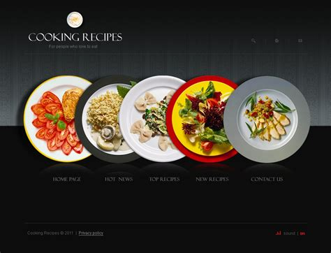 food template cooking swish template 34262