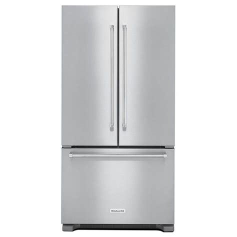 counter depth refrigerator dimensions kitchenaid krfc302ess kitchenaid 36 quot 22 cu ft counter depth