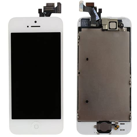 replace iphone 5 screen white iphone 5 lcd touch screen digitizer replacement