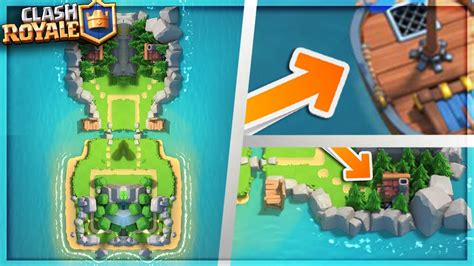 Clash Of Clans Boat Island by Clan Wars Island Arena Breakdown Clash Royale