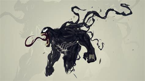 Venom Spider-man Digital Art Artwork Marvel Comics