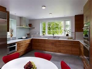 Cuisine en u ouverte pour tout espace 60 photos et conseils for Porte salle a manger pour petite cuisine Équipée