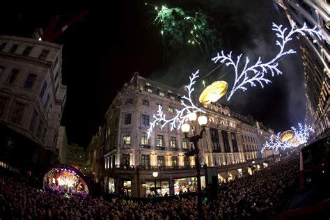 regent s street christmas lights turned on londontopia