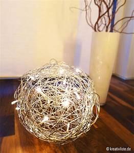 Led Lampe Selber Bauen : lampe selber bauen aus metalldraht papier oder holz diy ~ Orissabook.com Haus und Dekorationen