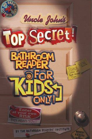 Johns Bathroom Reader Free Ebook by S Top Secret Bathroom Reader Series For