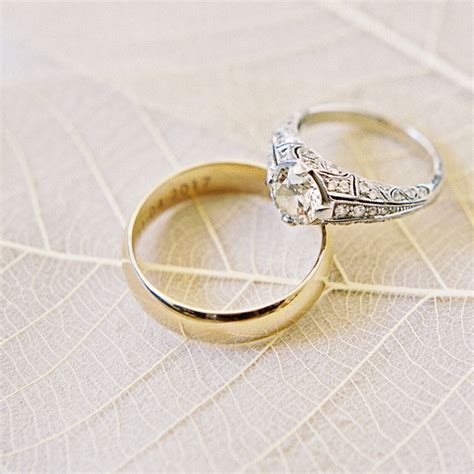 how to choose a mixed metal engagement ring and wedding