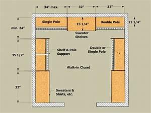 Closet Shelving Layout  U0026 Design