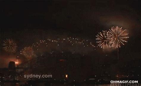 sydney harbour bridge   year fireworks funny gifs