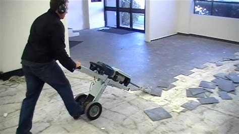 removing tile floor makinex 174 jackhammer trolley jht fastest way to remove