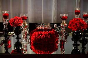 Red, Black and White Wedding on Pinterest | Black White ...