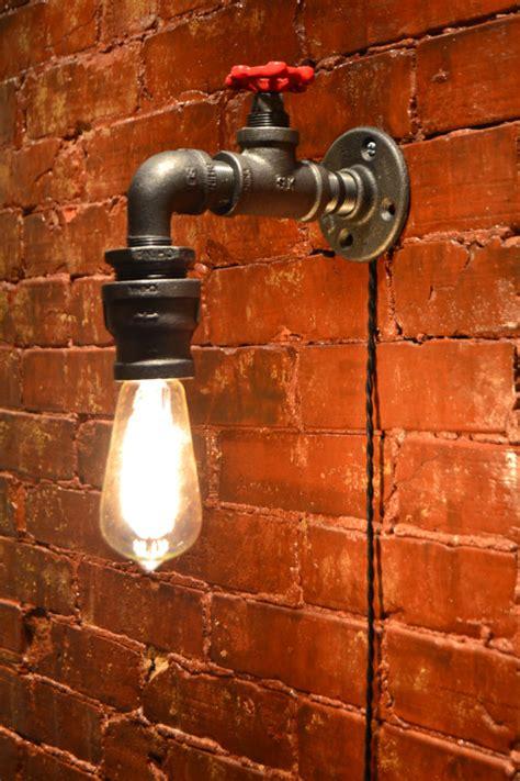 wall light industrial light steunk sconce
