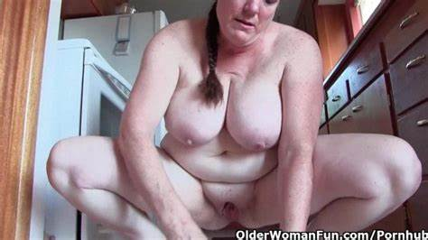 Clean Pervert Paging Older Boys Granny With Biggest Titted Cleaning The Chair