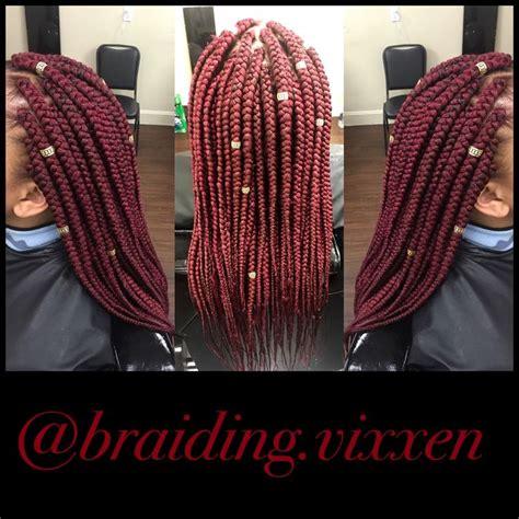 medium box braids with color 1000 ideas about medium box braids on box