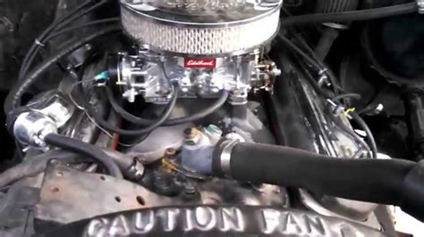 chevy  update  bbl carb   youtube