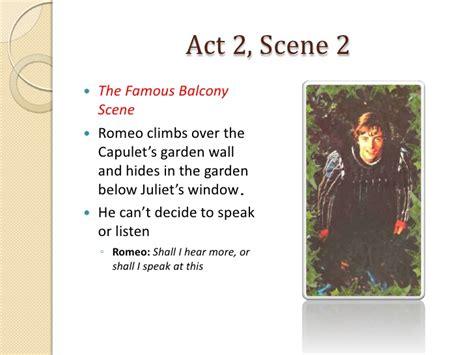 romeo  juliet act  scenes   notes